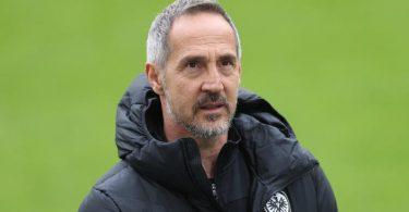Will vor dem Wechsel nach Gladbach noch mit Eintracht Frankfurt die Champions League erreichen: Trainer Adi Hütter. Foto: Jan Woitas/dpa-Zentralbild/dpa