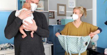 Viele der Geburtshelferinnen haben durch die Pandemie noch mehr zu tun, weil viele Mütter wegen das Krankenhaus nach Möglichkeit eher verlassen. Foto: Bernd Wüstneck/dpa-Zentralbild/dpa