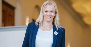 Frau mit klarer Meinung: Ex-Schiedsrichterin Bibiana Steinhaus-Webb. Foto: Ole Spata/dpa