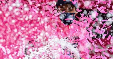 Dem Kolumbianer Egan Bernal ist der Gesamtsieg beim Giro kaum mehr zu nehmen. Foto: Massimo Paolone/LaPresse via ZUMA Press/dpa