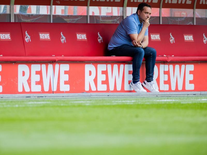 Hat mit seinem Aus als Geschäftsführer beim 1. FCKöln nicht gerechnet: Horst Heldt. Foto: Rolf Vennenbernd/dpa