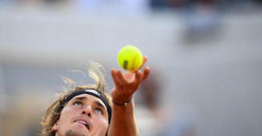 Alexander Zverev nächstes Ziel bei den French Open: Runde drei. Foto: Christophe Archambault/AFP/dpa