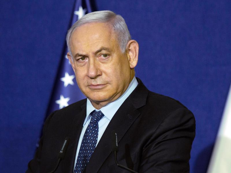 Benjamin Netanjahu war bereits von 1996 bis 1999 Ministerpräsident und ist seit 2009 durchgängig im Amt. Foto: Maya Alleruzzo/Pool AP/dpa