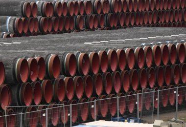 Im Streit über die deutsch-russische Gaspipeline Nord Stream 2 treffen sich hochrangige Regierungsvertreter der USA und der Bundesregierung. Foto: Stefan Sauer/dpa-Zentralbild/dpa