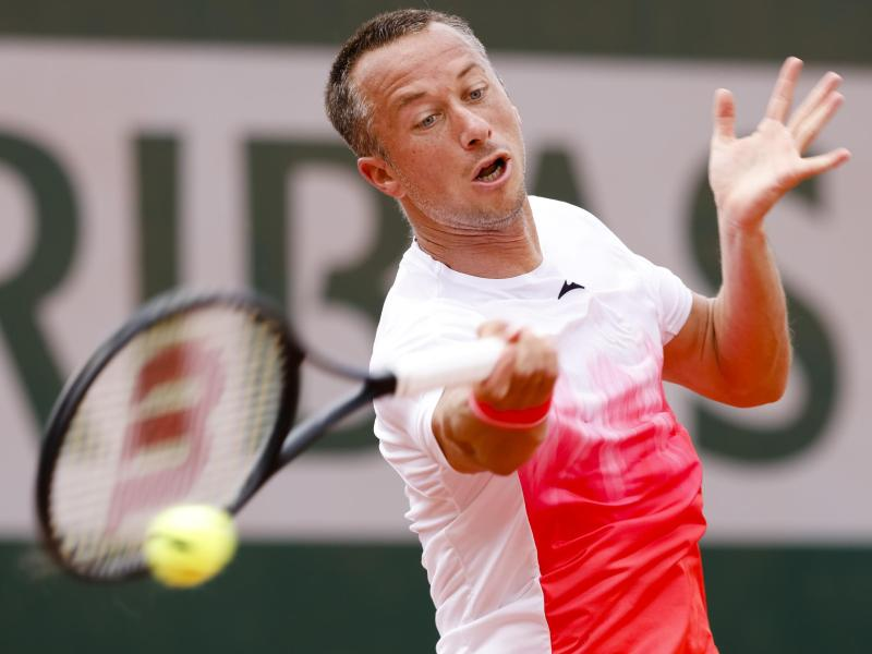 Hat bei den French Open für eine Überraschung gesorgt: Philipp Kohlschreiber. Foto: Frank Molter/dpa