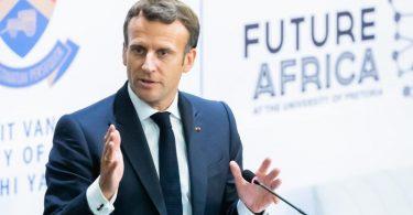 Frankreichs Präsident Emmanuel Macron will seine gemeinsamen militärischen Operationen mit Mali nach dem jüngsten Putsch zeitweise aussetzen. Foto: Christoph Soeder/dpa