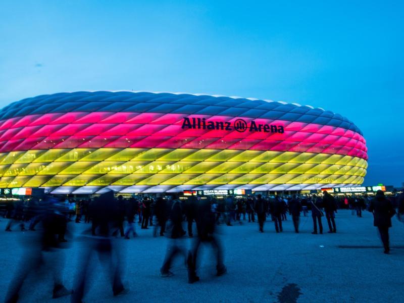 Jeweils rund 14.000 Zuschauer sollen die EM-Spiele in München sehen können. Foto: picture alliance / dpa