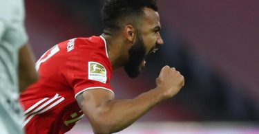 Bleibt beim FC Bayern: Maxim Choupo-Moting. Foto: Matthias Schrader/AP Pool/dpa