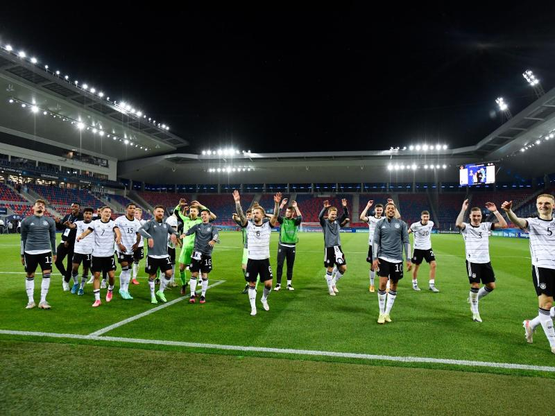 Will den EM-Titel: die deutsche U21-Nationalmannschaft. Foto: Marton Monus/dpa