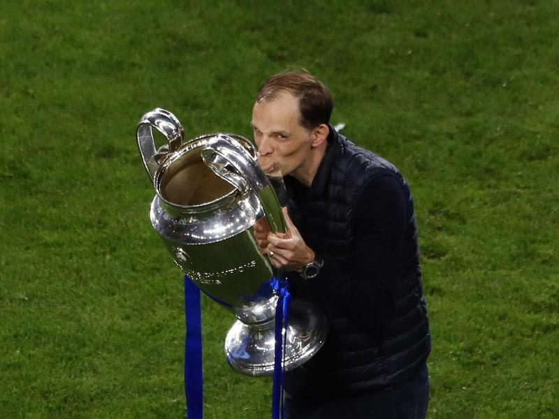 Hat beim FC Chelsea ein neues Arbeitspapier unterschrieben: Erfolgscoach Thomas Tuchel. Foto: Susana Vera/Pool Reuters via AP/dpa