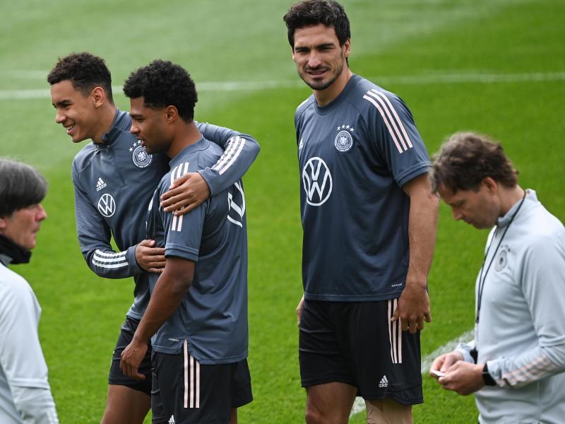 Mats Hummels konnte wieder am DFB-Training in Seefeld teilnehmen. Foto: Federico Gambarini/dpa