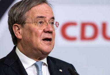 Mahnt zur Geschlossenheit im Bundestagswahlkampf: Unions-Kanzlerkandidat und NRW-Ministerpräsident Armin Laschet. Foto: Bernd von Jutrczenka/dpa