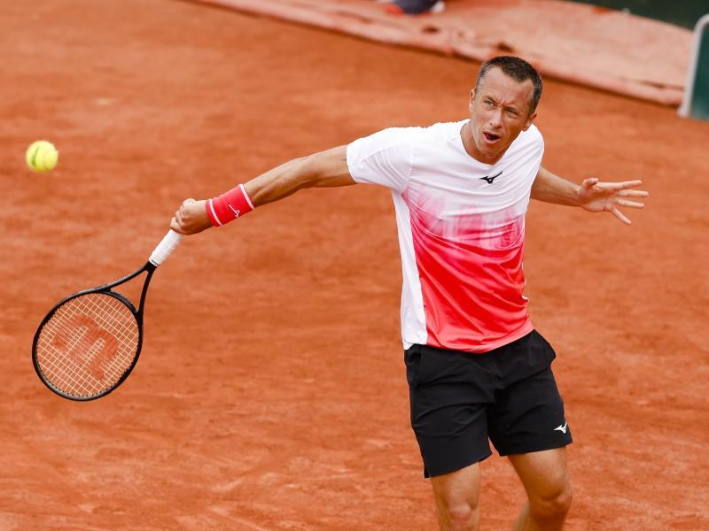 Philipp Kohlschreiber ist bei den French Open an Diego Schwartzman gescheitert. Foto: Frank Molter/dpa