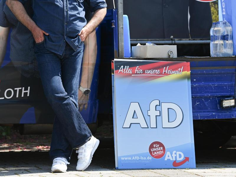 Der mögliche Wahlsieg der AfD war in den letzten Tagen das beherrschende Thema im Wahlkampf. Foto: Sebastian Kahnert/dpa-Zentralbild/dpa