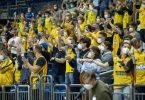 Alba Berlin kann im Finale auf die Unterstützung der Fans zählen. Foto: Andreas Gora/dpa
