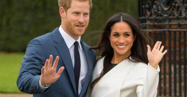 Der britische Prinz Harry und seine Frau Meghan Markle. Foto: Dominic Lipinski/PA Wire/dpa