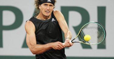 Alexander Zverev hat bei den French Open das Viertelfinale erreicht. Foto: Michel Euler/AP/dpa