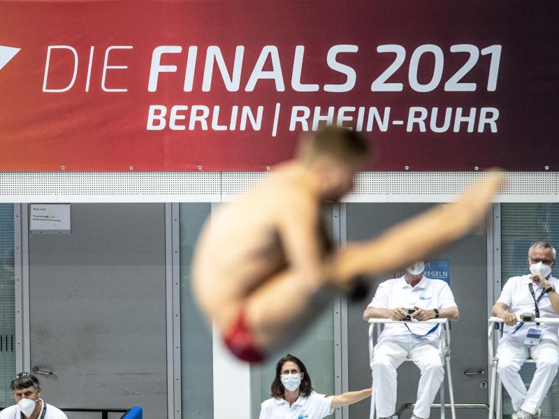 Bei den Finals 2021 fanden in 18 Sportarten 140 Titelkämpfe statt. Foto: Andreas Gora/dpa