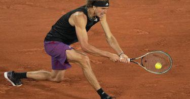 Hat sich bei den French Open kontinuierlich gesteigert: Alexander Zverev. Foto: Michel Euler/AP/dpa
