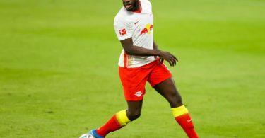 Muss weiterhin noch bei RB Leipzig trainieren: Dayot Upamecano. Foto: Jan Woitas/dpa-Zentralbild/dpa