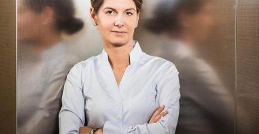 Tanit Koch wird Wahlkampfberaterin von Unions-Kanzlerkandidat Armin Laschet. Foto: Michael Kappeler/dpa