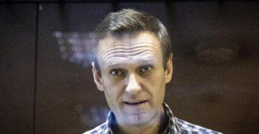 Alexej Nawalny während einer Gerichtsverhandlung in Moskau (Archivbild). Foto: Alexander Zemlianichenko/AP/dpa