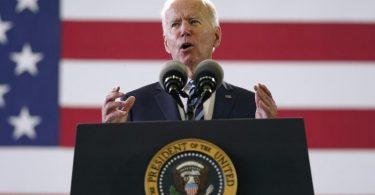 US-Präsident Joe Biden ruft zum Auftakt seiner ersten Europareise zur Verteidigung der Demokratie auf. Foto: Patrick Semansky/AP/dpa