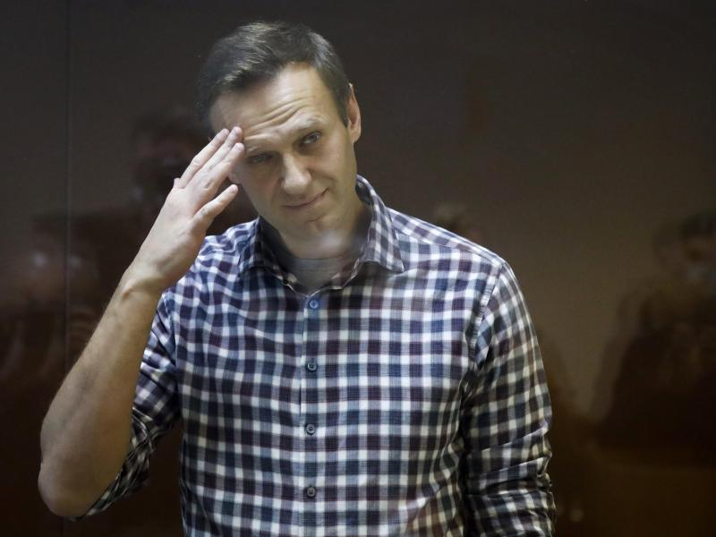 Russlands Justiz hat mehrere Organisationen des inhaftierten Kremlgegners Alexej Nawalny endgültig verboten. Foto: Alexander Zemlianichenko/AP/dpa