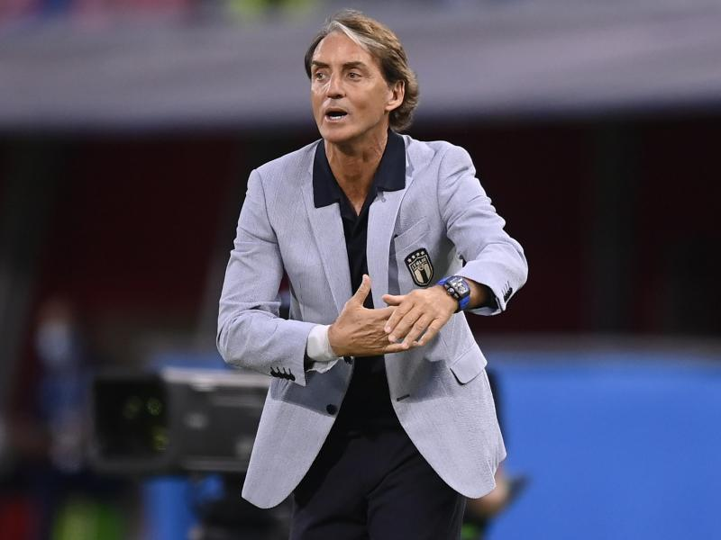 Hat großen Anteil an der Wiederauferstehung der Squadra Azzurra: Italiens Nationaltrainer Roberto Mancini. Foto: Fabio Ferrari/LaPresse via ZUMA Press/dpa
