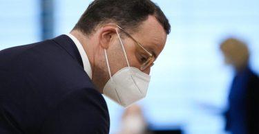 Das Bundesgesundheitsministerium von Ressortchef Jens Spahn steht in der Kritik. Foto: Markus Schreiber/AP POOL/AP