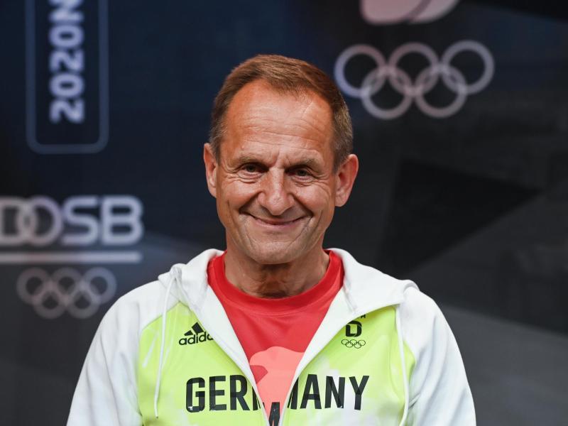 Will nach den Olympischen Spielen in Tokio die Vertrauensfrage stellen: Alfons Hörmann, Präsident des Deutschen Olympischen Sportbundes. Foto: Ina Fassbender/AFP POOL/dpa