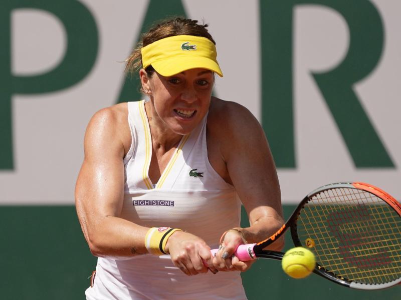 Steht bei den French Open als erste Finalistin fest: Anastasia Pawljutschenkowa. Foto: Michel Euler/AP/dpa