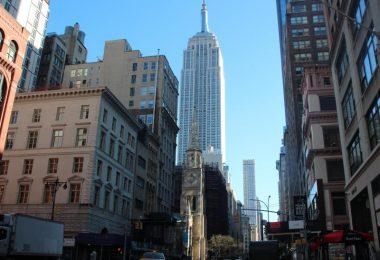 In der Corona-Pandemie wird auch das Empire State Building in New York zum Impfzentrum. Foto: Christina Horsten/dpa