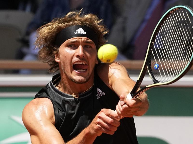 Verpasste den Einzug ins French-Open-Endspiel: Alexander Zverev. Foto: Michel Euler/AP/dpa