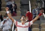 Ein Match für die Ewigkeit: Novak Djokovic hat den 13-maligen Paris-Champion Rafael Nadal besiegt. Foto: Michel Euler/AP/dpa