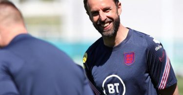 Englands Trainer Gareth Southgate trifft mit seinem Team im ersten Topspiel der EM auf Kroatien. Foto: Nick Potts/PA Wire/dpa