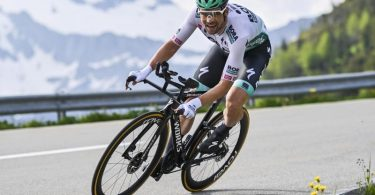 Die Chancen auf den Gesamtsieg sind für Maximilian Schachmann vom Team von Bora-hansgrohe deutlich gesunken. Foto: Gian Ehrenzeller/KEYSTONE/dpa