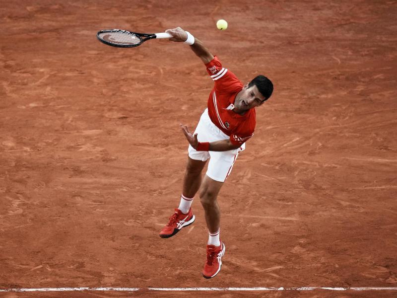 Novak Djokovic will seinen 19. Grand-Slam-Titel gewinnen. Foto: Thibault Camus/AP/dpa