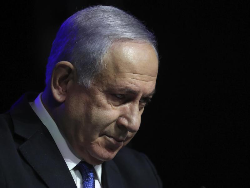 Benjamin Netanjahu, Ministerpräsident von Israel. Erstmals seit zwölf Jahren soll in Israel eine Regierung ohne Netanjahu vereidigt werden. Foto: Ariel Schalit/AP/dpa