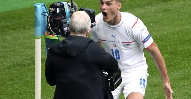 Hat Tschechien mit seinem Doppelpack zum Sieg geführt: Patrik Schick. Foto: Andy Buchanan/AP Pool/dpa