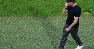 Für Alarmstimmung sieht Joachim Löw nach dem Fehlstart in seine Abschiedstour keinen Anlass. Foto: Christian Charisius/dpa