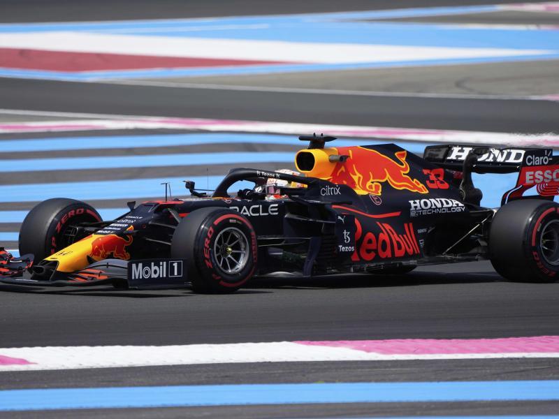 Legte auch im letzten Training in Le Castellet die schnellste Zeit hin: Max Verstappen. Foto: Francois Mori/AP/dpa