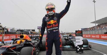 Max Verstappen sicherte sich in Le Castellet die Pole Position. Foto: Nicolas Tucat/Pool AFP/AP/dpa