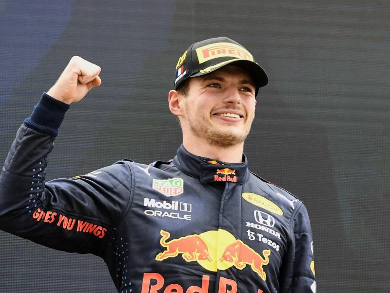 Max Verstappen hat den Großen Preis von Frankreich gewonnen. Foto: Nicolas Tucat/Pool AFP/dpa