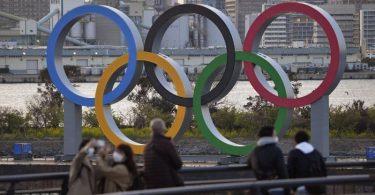 Bei den Olympischen Spielen in Tokio sollen bis zu 10.000 Zuschauer zugelassen werden. Foto: -/kyodo/dpa