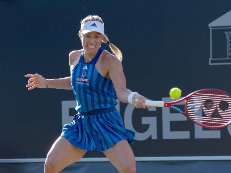 Hat beim Tennis-Event in Bad Homburg organisatorische Aufgaben übernommen: Angelique Kerber. Foto: --/Paul Zimmer/Daniel Maurer/dpa
