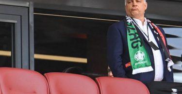 Wird nach dpa-Informationen in München auf der Tribüne fehlen: Ungarns Ministerpräsident Viktor Orban. Foto: Robert Michael/dpa-Zentralbild/dpa