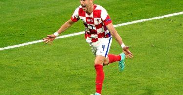 Fällt für Kroatien im Spiel gegen Spanien aus: Ivan Perisic wurde auf das Corona-Virus positiv getestet. Foto: Owen Humphreys/PA Wire/dpa