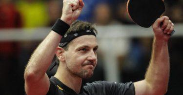 Timo Boll ist zum achten Mal Tischtennis-Europameister. Foto: Abel F. Ros/dpa