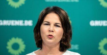 Grünen-Kanzlerkandidatin Annalena Baerbock wird vorgeworfen, in ihrem Buch aus anderen Medien abgeschrieben zu haben. Foto: Bernd von Jutrczenka/dpa